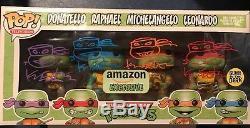 KEVIN EASTMAN 4X Auto 4X Sketches Funko Pop TMNT Ninja Turtles 4 Pack Amazon EXC