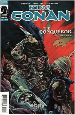 King Conan The Conqueror #5 Cover by Tomas Giorello