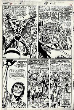 Kirby, Jack Fantastic Four #59 P 19 (large Art) 1966