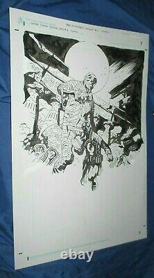 LOBSTER JOHNSON Original Cover Art by Mike Mignola HELLBOY / YEAR OF MONSTERS