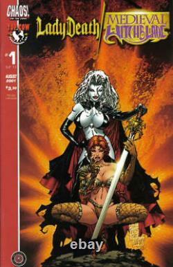 Lady Death/medieval Witchblade #1b Cover Art By Marc Silvestri