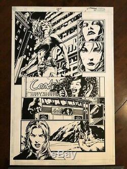 Lee Bermejo Original art, Gen 13 #44 page 11. Caitlin Fairchild