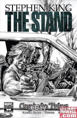 Lee Bermejo Stephen King's The Stand Issue 3 Comic Cover Original Art