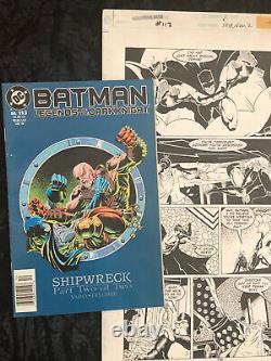 Legends Dark Knight Batman Original Art DC Comics