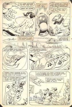 Legion of Super-Heroes #283 p. 17 Great Wildfire 1982 art by Howard Bender