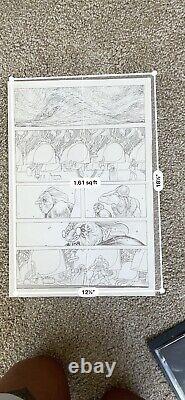 Little Bird #5 Page 4 Rare Page Ian Bertram Inked Image