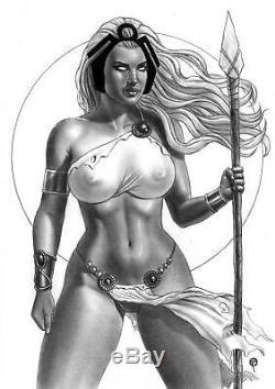 MARVEL Comics STORM Original Art X-MEN WOLVERINE GAMBIT X23 BISHOP BLACK PANTHER