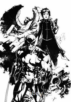 MARVEL Comics WOLVERINE & JUBILEE Original Art LOGAN X-MEN X-FORCE X-23 JEAN