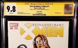 MARVEL Comics X-MEN #1 CGC SS 9.8 Original Art Sketch BLACK QUEEN JEAN WOLVERINE