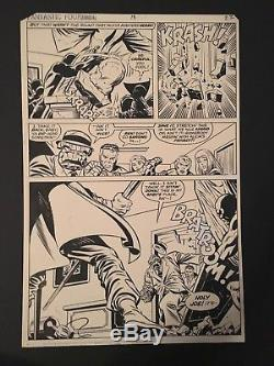 MARVEL Fantastic Four Annual #13 Original Art PAGE #22 Artists Buscema/Sinnott