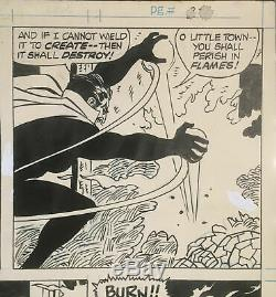 MARVEL Two-in-One issue #8 p. 27 The Thing & Ghost Rider 1975 art by Sal BUSCEMA