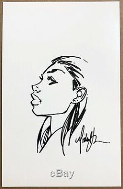 MICHAEL TURNER FATHOM convention sketch Original Art