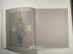 MOEBIUS ORIGINAL ART IN SIGNED BOOK! Moebius La Memoire Du Futur