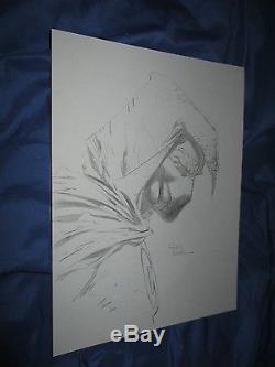 MOON KNIGHT Original Art Sketch/Page by David Finch (Werewolf by Night 32)