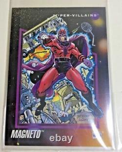 Magneto Original Production Art 1992 Impel marvel card cel x-men comic cel movie