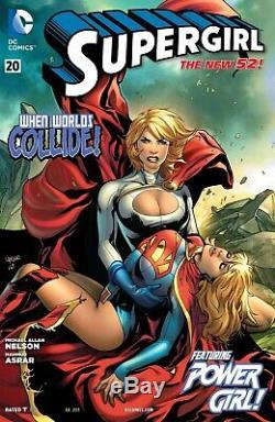 Mahmud Asrar 2013 Supergirl, Power Girl Original Art