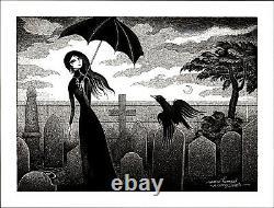 Marc Hempel Original Sandman Art A Gorey Death