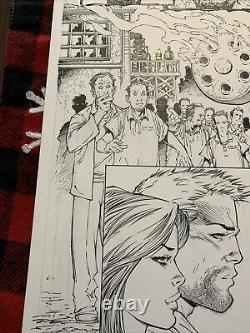 Marc Silvestri Original Art Page INFERNO Issue 2 Page 17 Image Wolverine Fame
