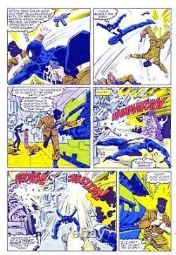 Marc Silvestri original art- Vintage Web of Spider-Man, Black Costume, Venom