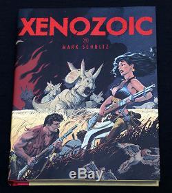 Mark Schultz Original Xenozoic Hannah Art Flesk Book Charity Auction