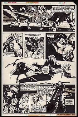 Marvel Premiere #32 Art by Howard Chaykin Monark Starstalker First Appearance