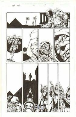 Marvel Universe The End #3 p. 12 Dr. Doom 2003 art by Jim Starlin
