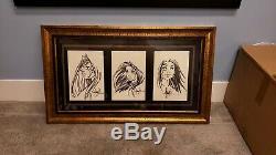Michael Turner Original Art Custom Framed