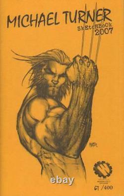 Michael Turner Sketchbook 2007 Set Wizard World Chicago LE #67/400 NM AB