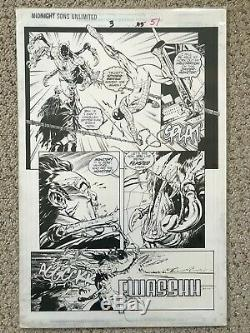Midnight Sons Morbius Spider-man Original Art