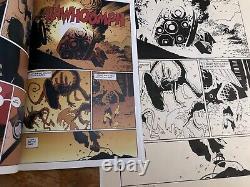 Mignola Original comic art, Aliens Salvation, Page #31, 1993 Dark Horse Comics