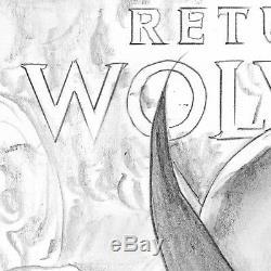 Mike Mayhew Original RETURN OF WOLVERINE #1 (2018) Cover Sketch A