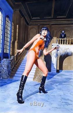 Mike Mayhew Original VAMPIRELLA #11 Painted Cover Art