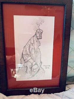 Mike Mignola Original Hellboy Pencil Sketch