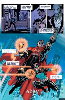 Milestone Returns Splash Page Jim Lee (pencils & inks) Original Art DC Comics