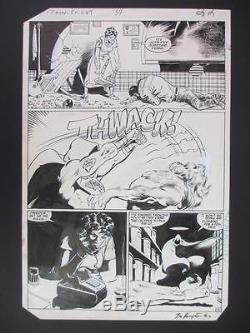 Moon Knight #34 MARVEL 1983 (Original Art) Page 22 by Bo Hampton