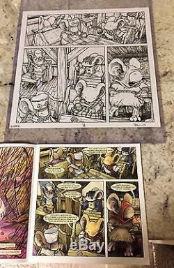 Mouse Guard Legends Of The Guard Vol 3 Original Comic Art Page 11 David Petersen
