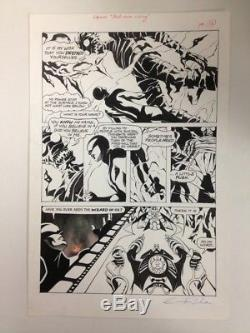 NEXUS Original Comic Book Art BAD MOON RISING Dark Horse Presents #13 STEVE RUDE