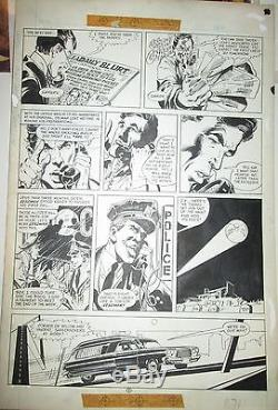 Neal Adams DEADMAN ORIGINAL ART National Lampoon 1972 Pencil & Ink NICE PAGE B/W