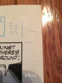 New Warriors Original Comic Art / Issue 4 Pg 3 / Bagley Signed / Marvel / Nova