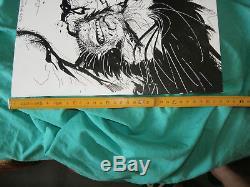 ORIGINAL ART CONVENTION SKETCH BY JIM LEE WOLVERINE X-MEN 2006 no reserve price