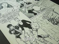 Original Art Oa Paul Smith/bob Wiacek Published Page X-men/alpha Flight #2 1986