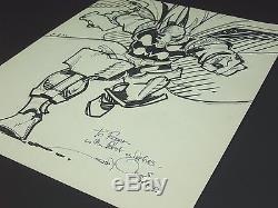 ORIGINAL ART OA WALT SIMONSON BETA RAY BILL INK FULL BODY SKETCH 11x14 THOR