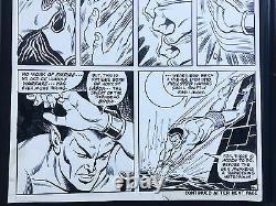 ORIGINAL ART Ross Andru / Mooney / Rosen Sub-Mariner 39 1971 Namor remakes NYC