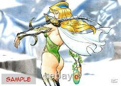 Original 11''x16'' Comic Art Pin-up (Any Character) by Demetrio Braga