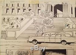 Original Art Batman The Cult Book 2 p. 31 by Bernie Wrightson signed