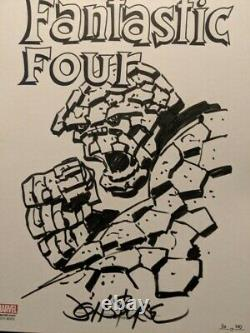 Original Art By John Byrne Fantastic Four The Thing Ben Grimm Idw Limited