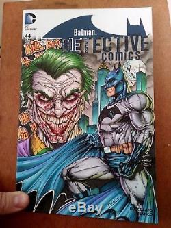Original Art Comic Book Sketch Cover Detective #44 Batman Joker By Jim Kyle