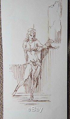 Original Art Dejah Thoris by Roy G. Krenkel