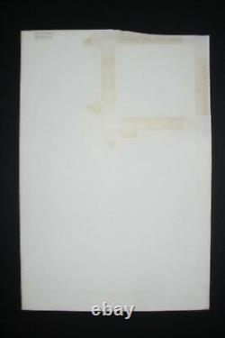 Original Art FANTASTIC FOUR #298, pg 4 by JOHN BUSCEMA, Sal Buscema inks, Torch
