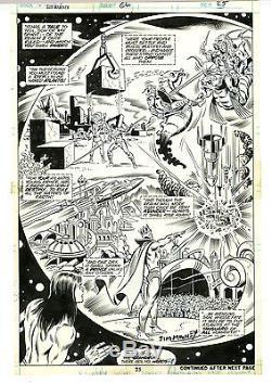 Original Art Page #25 SPLASH Sub-Mariner #66 Mooney Sinnott Marvel Bronze Age
